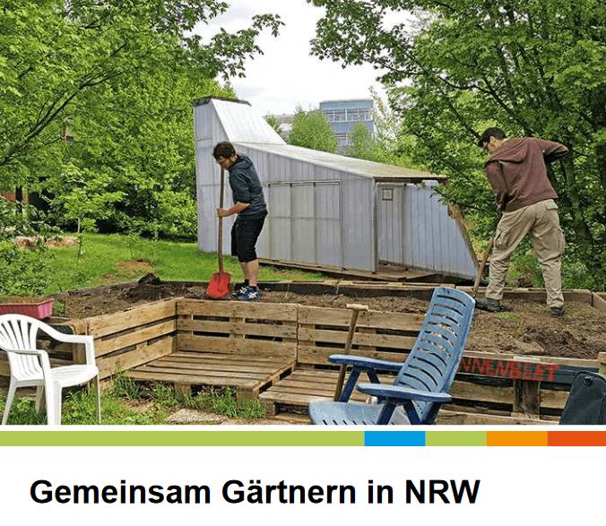 """5. September '18 – SAIN auf der Netzwerktagung """"Gemeinsam gärtnern in NRW"""""""