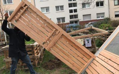 Hochbeetbau in Bonn und Oberhausen