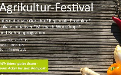 28. September '19 – Agrikultur-Festival in Bonn